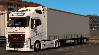 Low deck chassis addon for Eugene Volvo FH by Sogard3 ETS 2 MOD 1.33