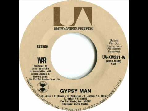 WAR - Gypsy Man Mp3