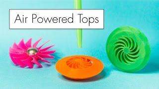 Video GALACTOPS // Air Powered Spinning Tops download MP3, 3GP, MP4, WEBM, AVI, FLV Juni 2018