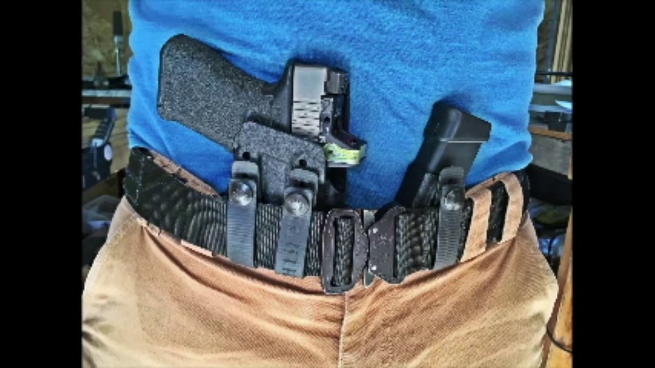 Best Appendix Carry Holster? - YouTube