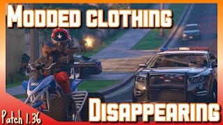 Problems In The Modding Community Patch 1.35/36 | Outfits Disappearing | GTA V online Gameplay (PS4)