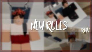 Dua Lipa- New Rules | Roblox Music Video