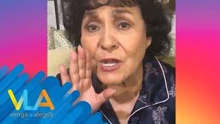 ¡Carmen Salinas se une al Thalía Challenge! | Venga la Ale...