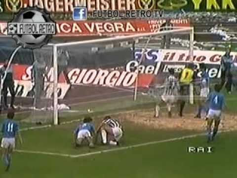 Ascoli napoli 1 1 serie a 1984 85 youtube for Serie a table 1984 85
