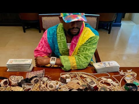 10 Expensive Things Owned By Pro Boxer Floyd Mayweather Jr