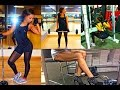 Fitness Routine: My GYM LEG DAY WORKOUT - How To Tone & Slim Thighs!