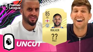 Kyle Walker is not happy with his FIFA 21 pace rating! | Uncut | AD
