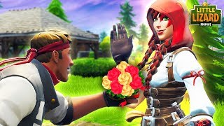 DIRE DECLARES HIS LOVE FOR FABLE!!! *SEASON 6* - FORTNITE SHORT FILMS