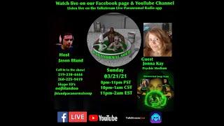 Paranormal Soup Ep 261 guest Psychic Medium Jonna Kay