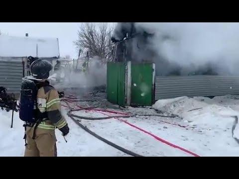 В Татарстане при пожаре погиб пятилетний мальчик – отец не смог найти его в горящем доме