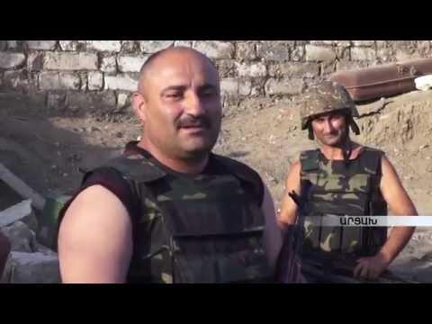 Nagorno Karabakh War - Armenian Veterans Back To The Frontline Again