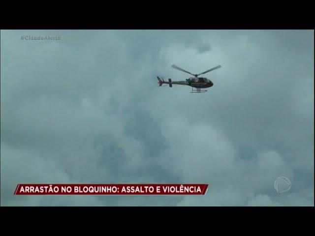 Flagrantes mostram arrastões em bloquinhos de Carnaval em São Paulo