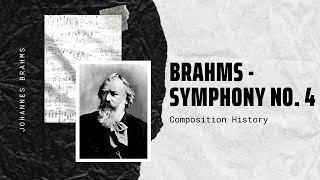 Brahms - Symphony No. 4 in E Minor, Op. 98