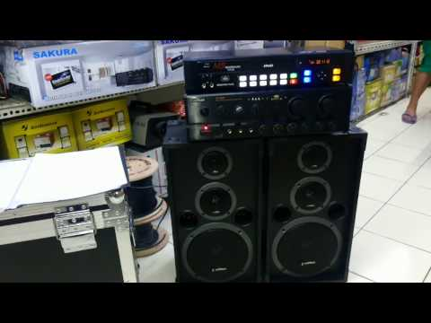 "Karaoke System Package - Megasound Titus + Av302us + Konzert 8"" 3Way - Berklyn Electronics"