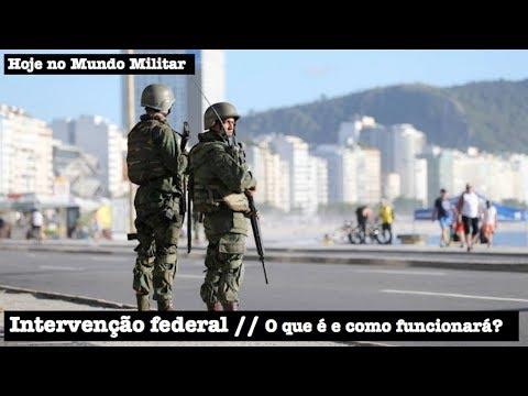 Intervenção federal no Rio de Janeiro. O que é e como funcionará?