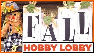 HOBBY LOBBY FALL 2019 | FALL IN JULY DAY 5