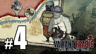 Valiant Hearts: The Great War Walkthrough PART 4 (PS4) [1080p] Lets Play Gameplay TRUE-HD QUALITY