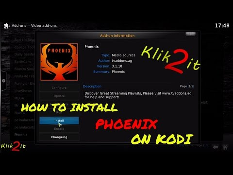phoenix for kodi download