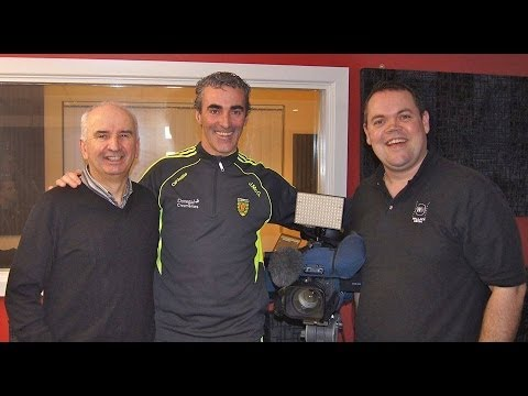 Talking Sport20 Exclusive Interview with Donegal Manager Jim McGuinness