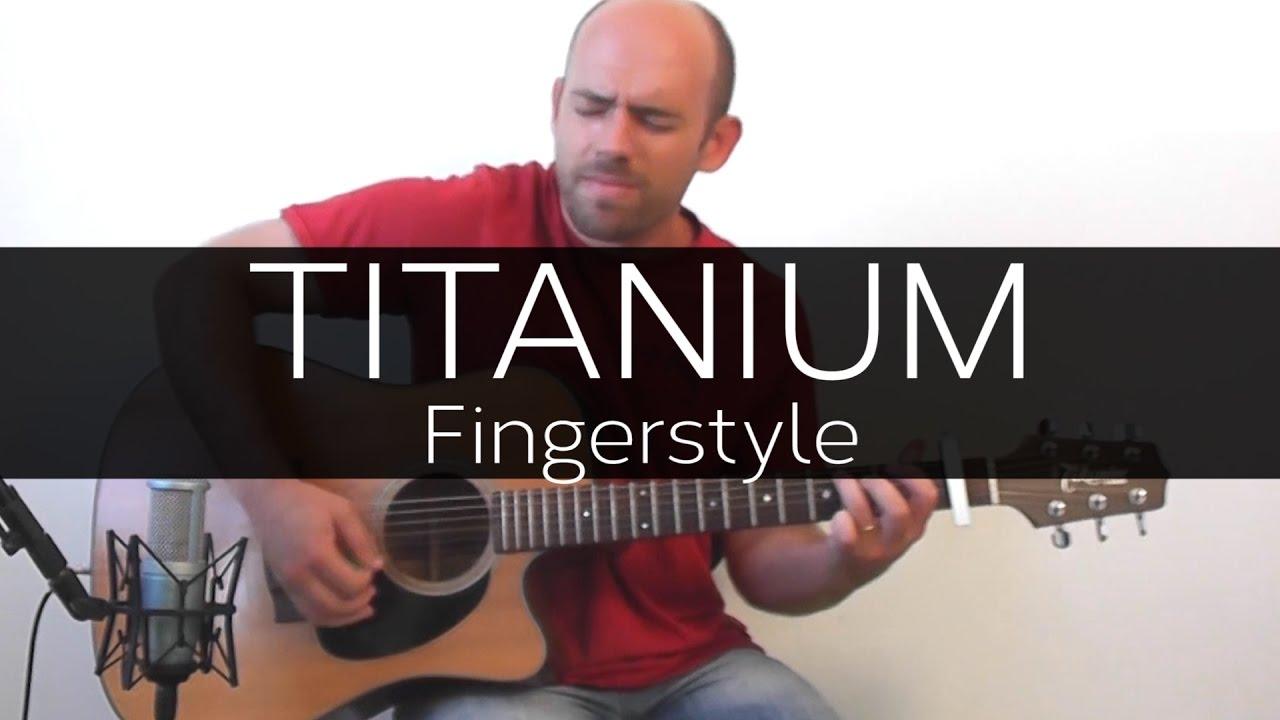 Titanium David Guetta Acoustic Guitar Solo Cover Violo