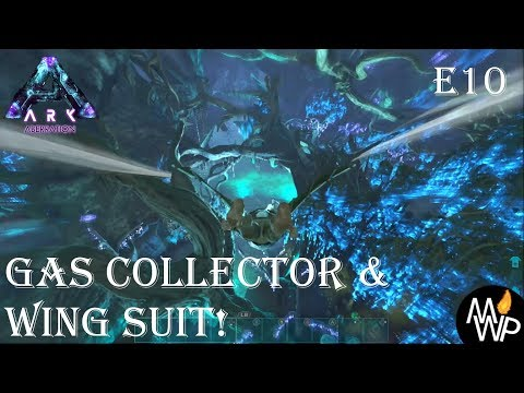 ARK: Aberration lets play Xbox! E10 Gas collector and wing suit!