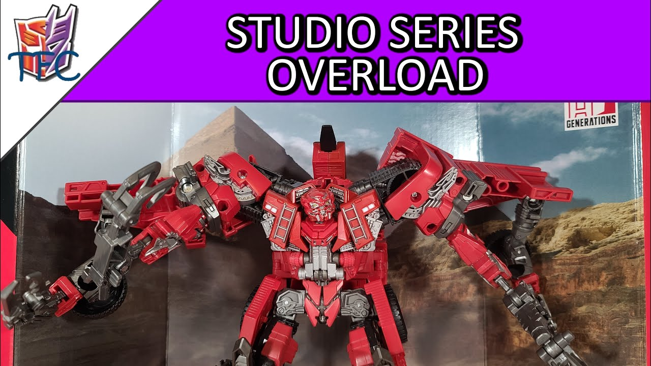 TF Collector Studio Series Overload Review!