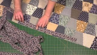Окантовка лоскутного одеяла. Пэчворк для начинающих