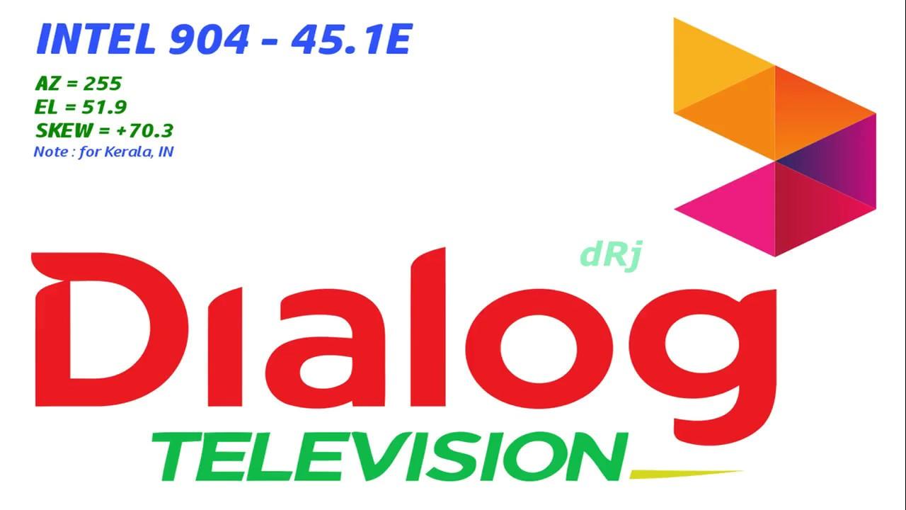 Dialog TV Intelsat 904 DTH Dish Tracking