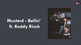 Mustard - Ballin' ft. Roddy Ricch [ LYRICS - ENGSUB ]