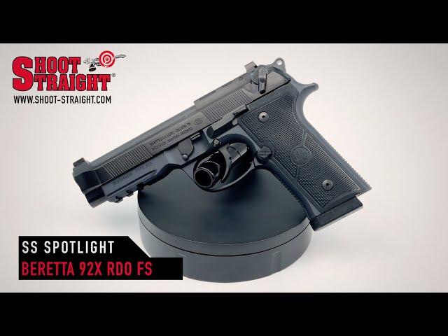 Beretta 92X RDO Full Size 9mm - Shoot Straight Spotlight