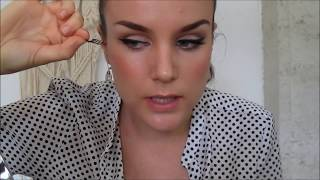 Eco Makeup Tutorial - 1950s Hollywood Glam