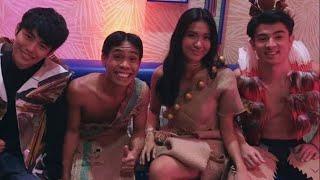 Pbb big 4, lou, Andre, fumiya at yamyam! Pinag-kaguluhan sa fashion show nila! ❤️ Team layf! Always