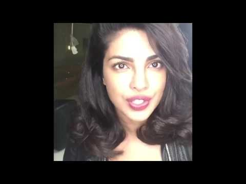 Priyanka Chopra Facebook Live May 15, 2016