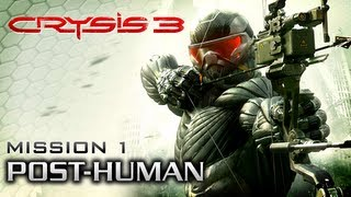 Crysis 3 Intro & Chapter 1: Post-Human [Xbox 360 / PS3 / PC]