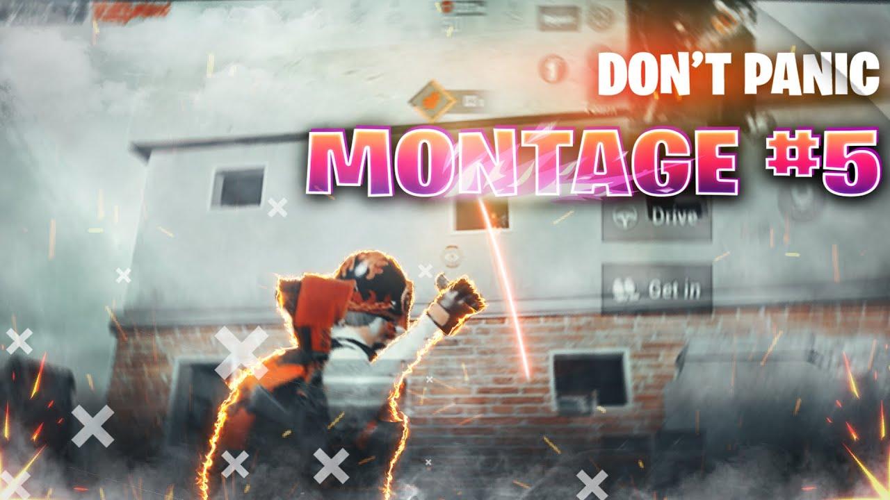 Don't Panic - Pubg Mobile Montage #5   Byte