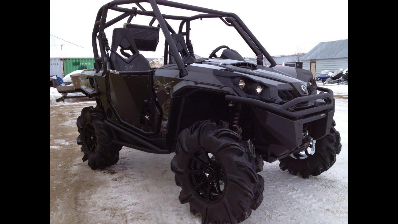 Can Am Commander For Sale >> 2013 Commander X 1000 Carbon Black Showroom Mud Build ...
