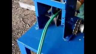 Máquina de descascar fios de cobre e alumínio