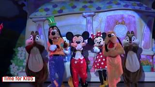 Happy Birthday Dance  Mickey and Minnie Mouse Time for KIDS
