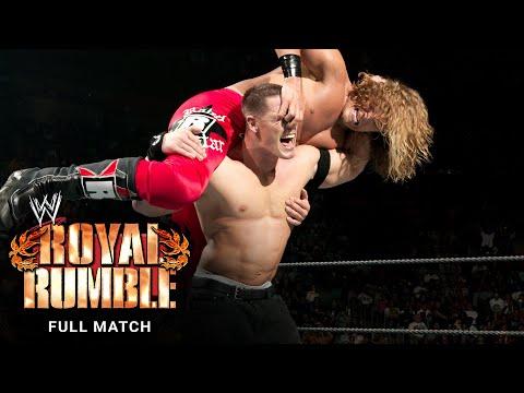 FULL MATCH - Edge vs. John Cena – WWE Title Match: Royal Rumble 2006