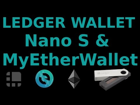 How to Use MyEtherWallet with your Ledger Nano S for Ethereum and Tokens Augur Golem