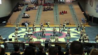 Millennium HS Winter Drum Line - March 1, 2014