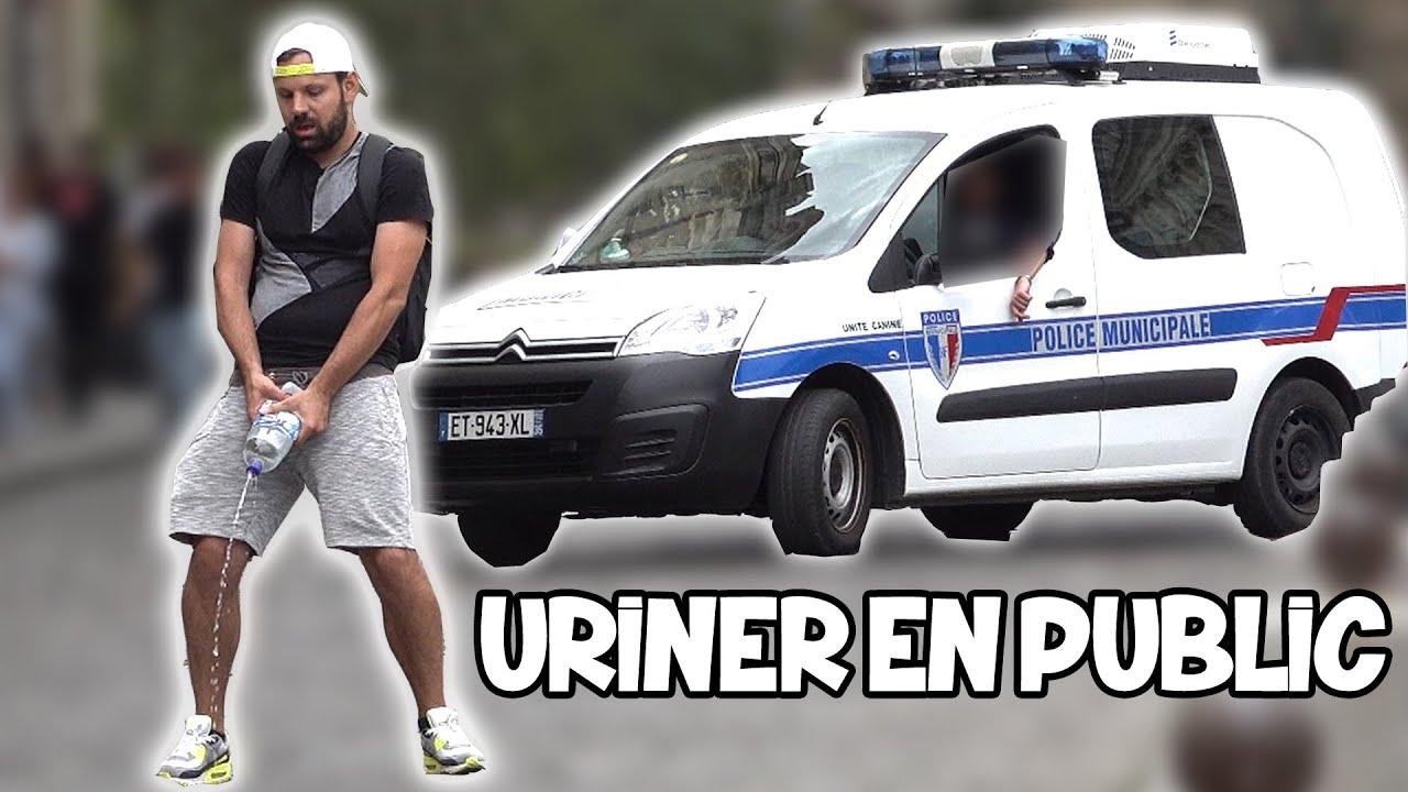 Uriner devant les policiers - Défi Prank - Les Inachevés