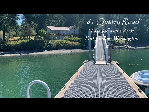 61 Quarry Road, Paradise with a dock!