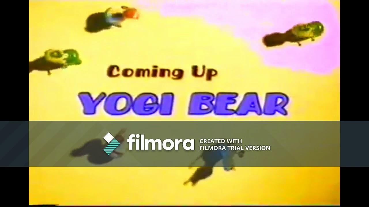 """(ORIGINAL) Boomerang (Brazil): Yogi Bear """"Coming Up Next"""