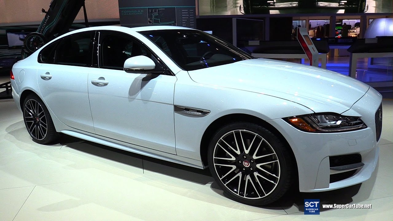 2017 jaguar xf r sport exterior and interior walkaround 2016 la auto show youtube. Black Bedroom Furniture Sets. Home Design Ideas