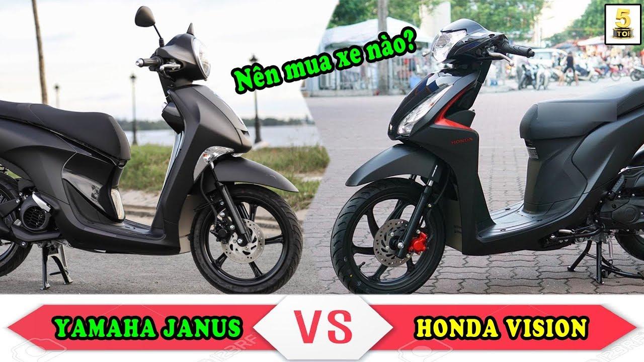 Nên mua xe ga Yamaha Janus hay Honda Vision? ▶️ Janus và Vision đang rất hút khách 🔴 TOP 5 ĐAM MÊ