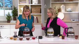 KitchenAid Electric Glass Tea Kettle on QVC