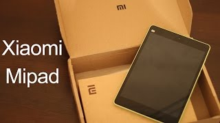 Xiaomi Mipad 16GB Открытие посылки с AliExpress.(, 2015-05-13T19:46:06.000Z)