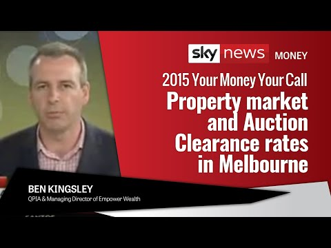 SKY News, YMYC | Property market and Auction Clearance rates in Melbourne