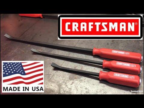 USA Craftsman Pry Bar Set